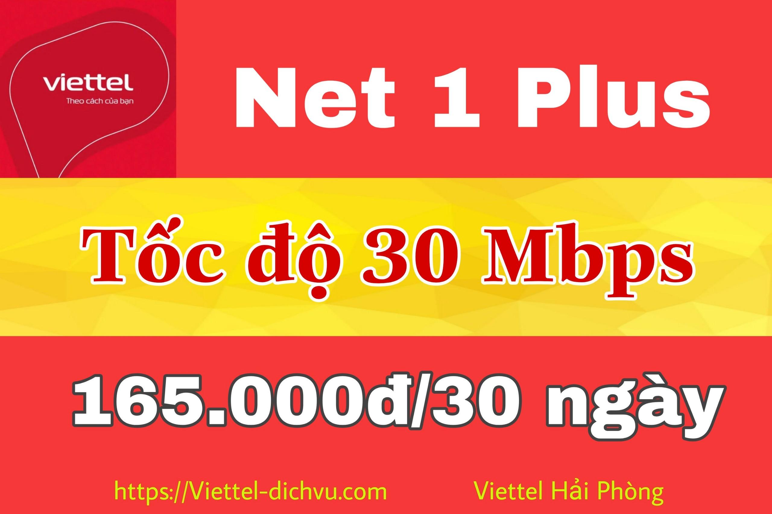 Goi Cước Thấp Nhất Của Viettel Cap Quang Net 1 Plus Viettel Hải Phong Lắp Mạng Viettel Hải Phong